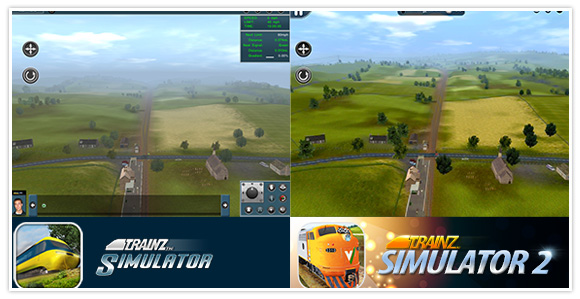 Improved graphics and draw distance! Trainz Simulator 2 for iPad